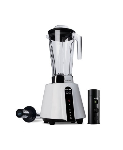 BioChef Blender Living Food Vacuum Biały